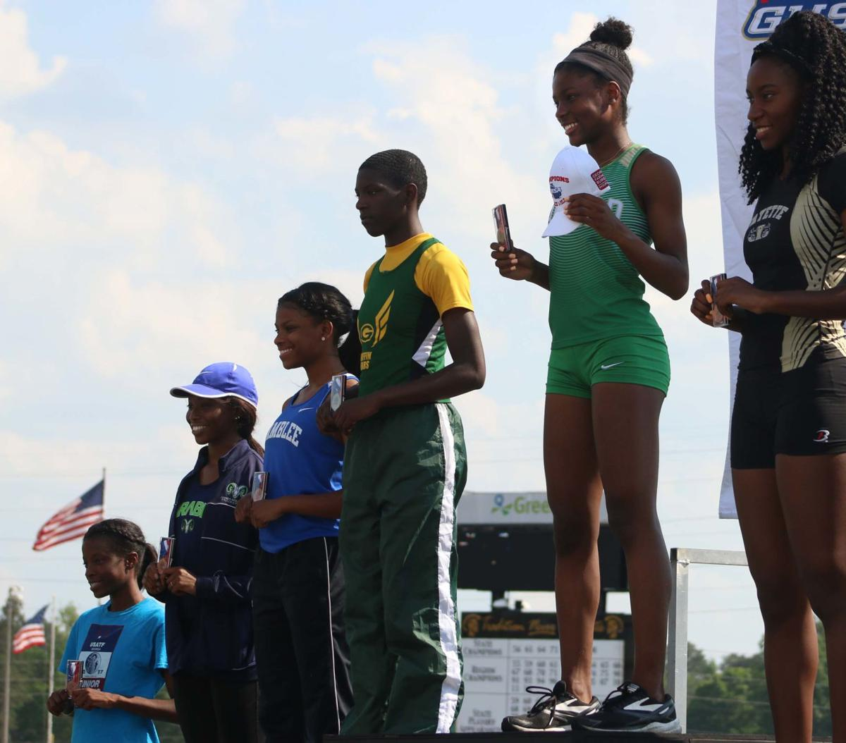 Buford's Kimberly Harris, Dacula's Elise Igberaese win state titles