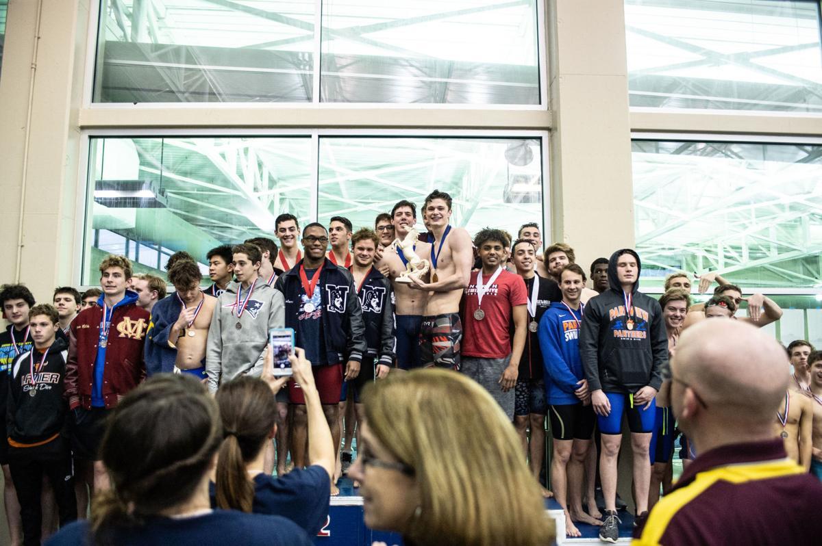 Mill Creek's Jake Magahey stars, Brookwood boys win county swim and dive team title again