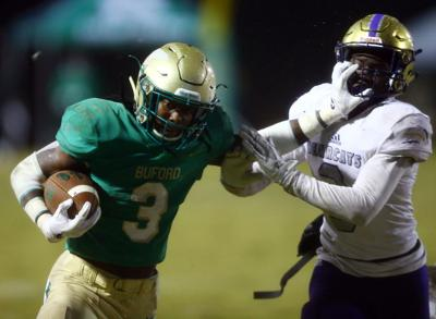 Buford football star Brown hospitalized after apparent seizure