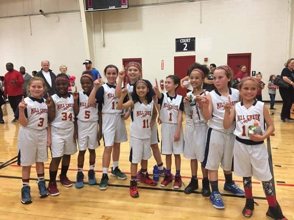 Mill Creek girls youth basketball team wins county championship | Mill Creek ...