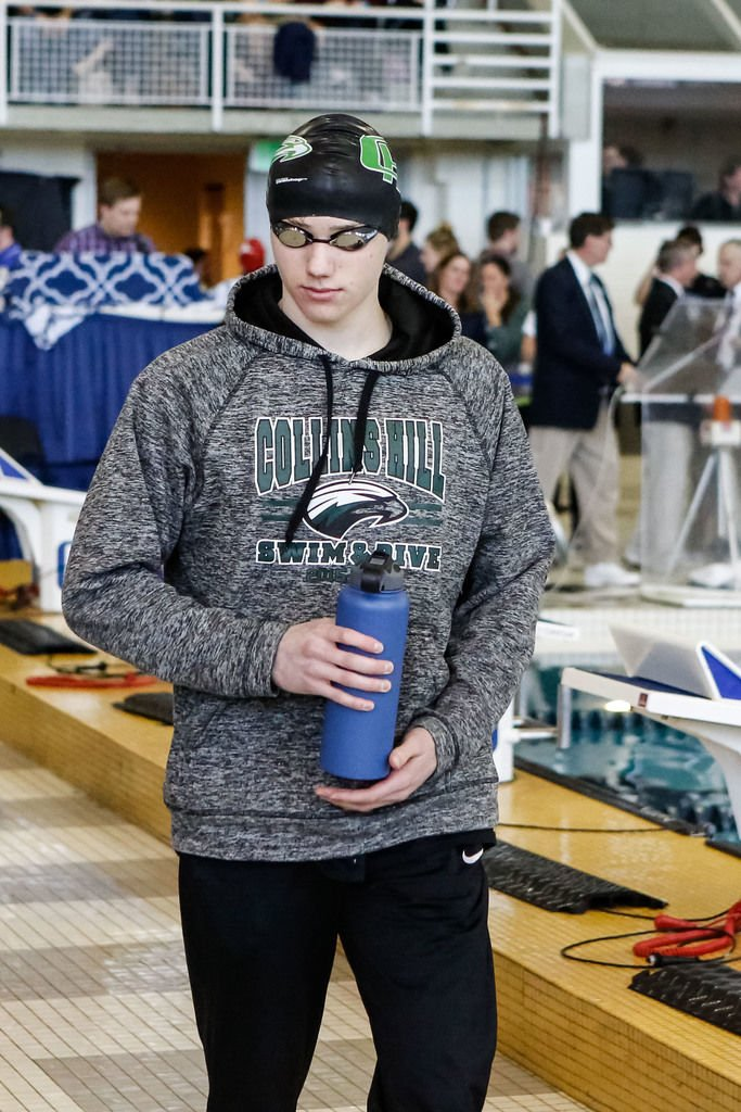 Boys swimmer of the year collins hill 39 s andrew winton for Collins hill