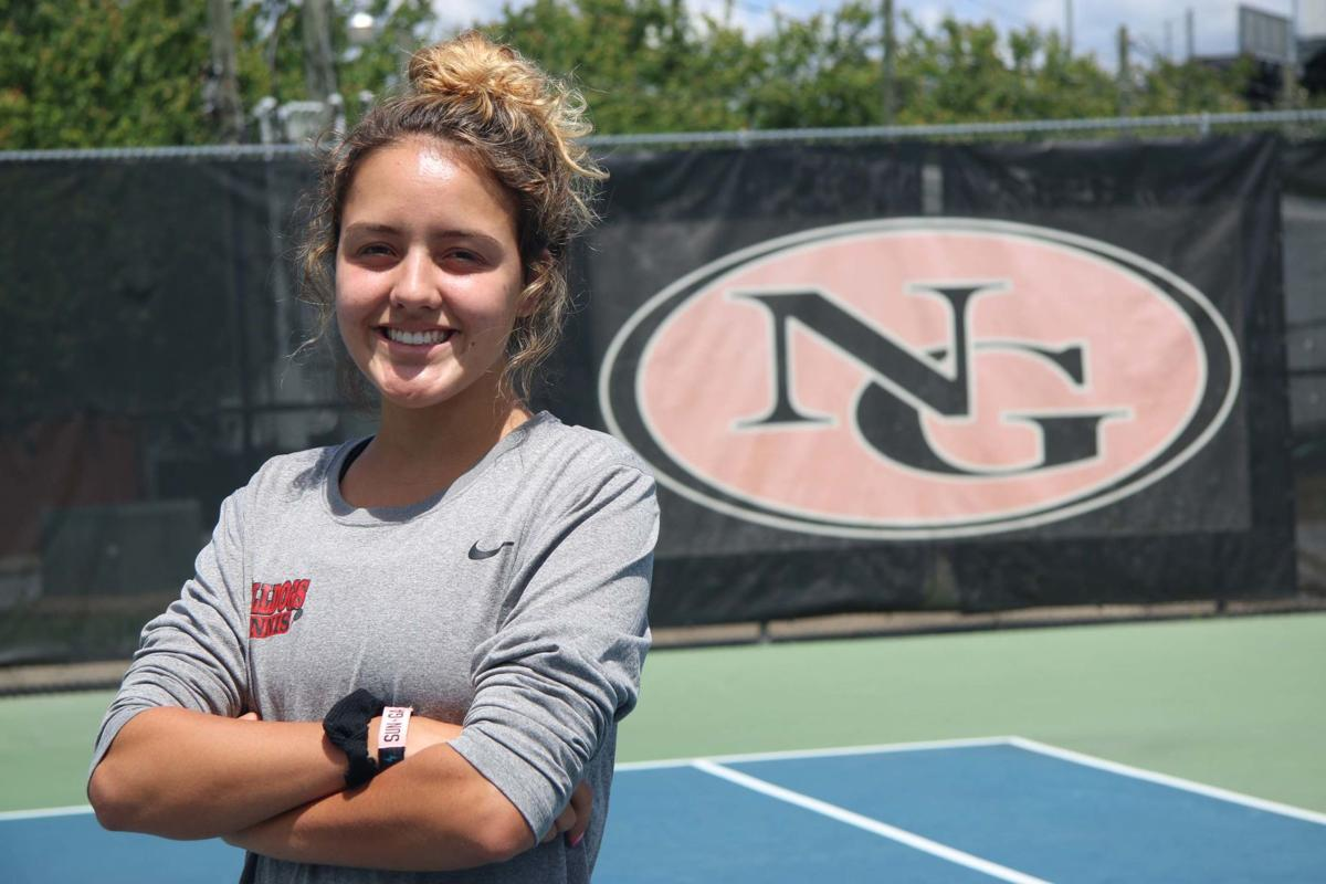 girls tennis player of the year: rebol provides confidence boost for