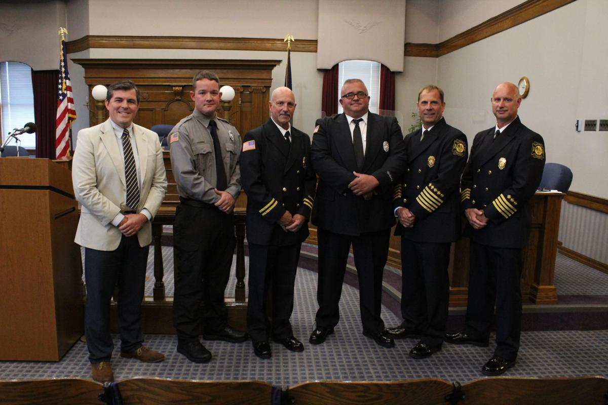 Huntington Firefighters step into new roles