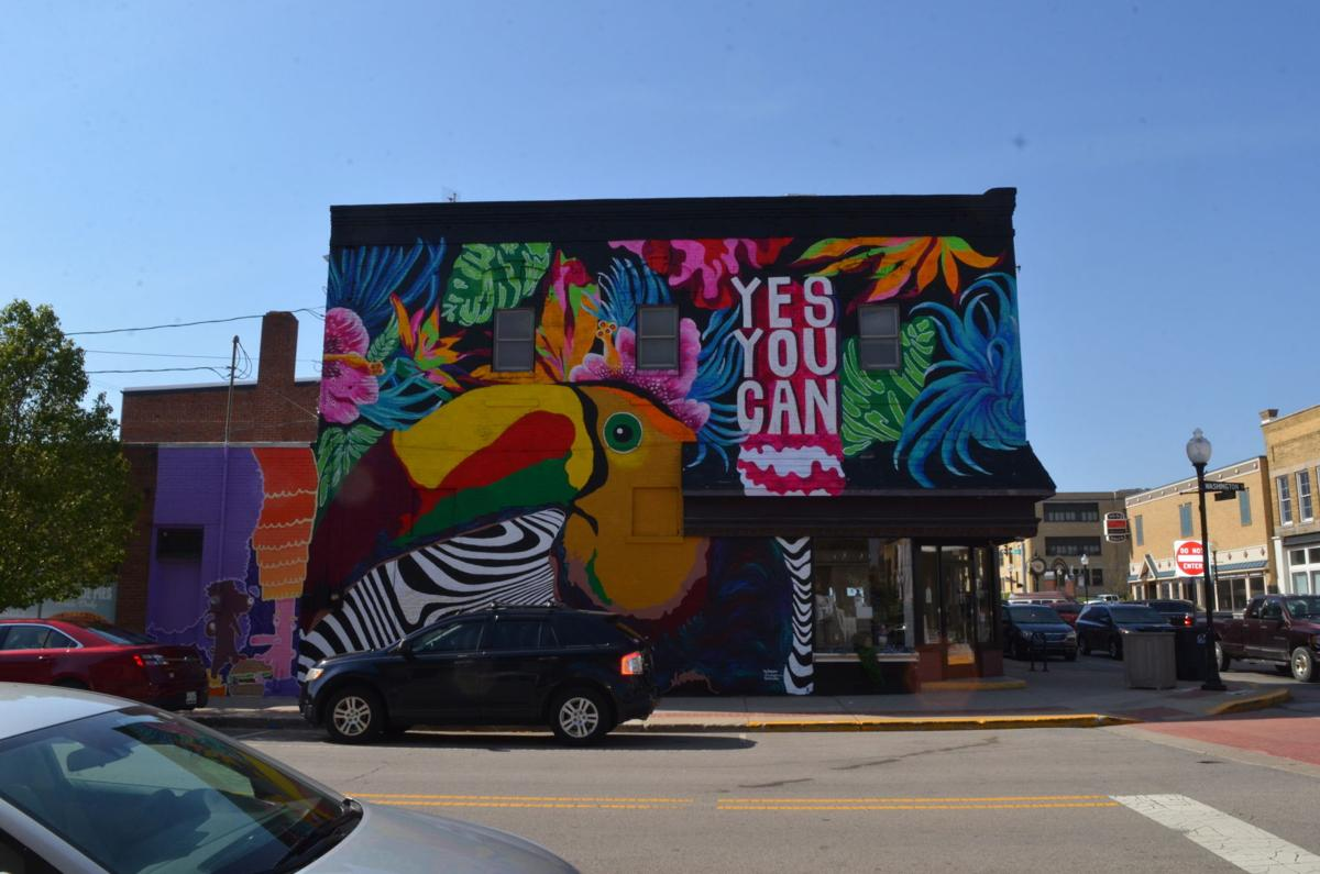 yes you can completed mural