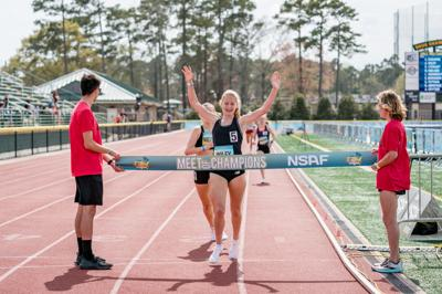 Wiley wins mile run at NSAF Meet of Champions