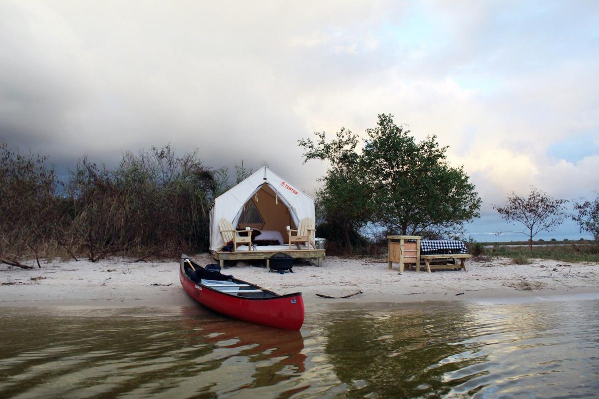 Staycation: Overnight in a state park tent