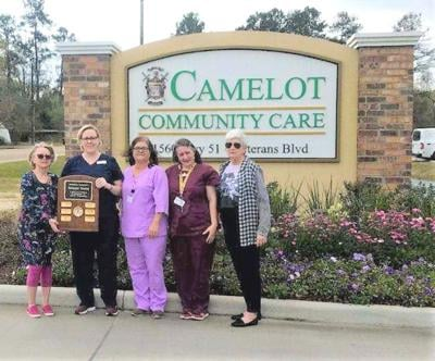 Camelot Community Care receives Genesis Award