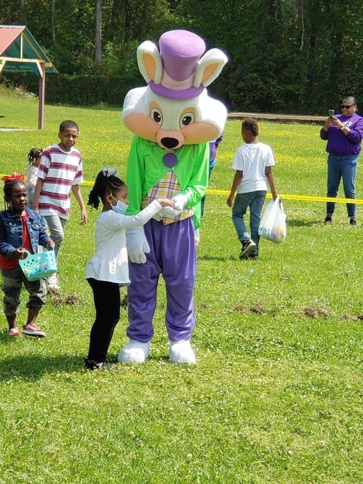 Easter egg hunt a success