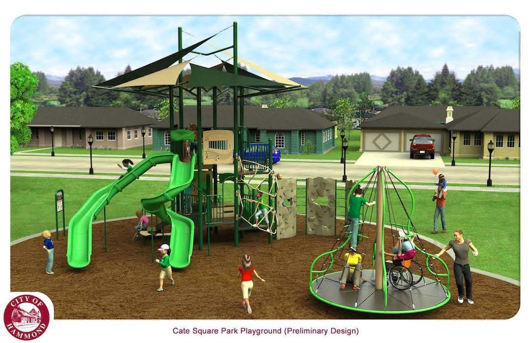 Cate Square play area to get facelift