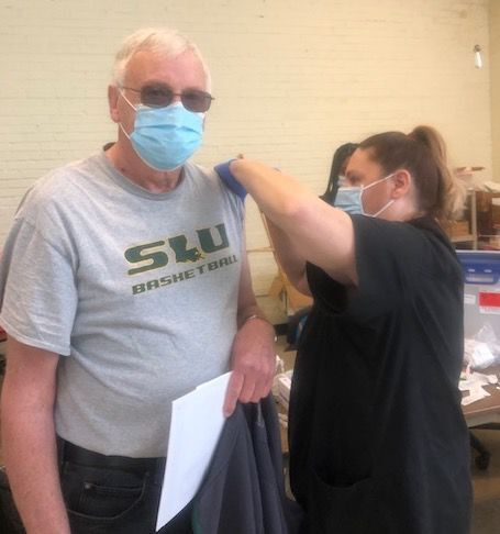Vaccinations available at senior centers