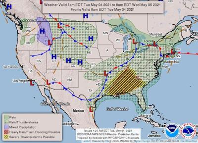 High wind, hail, tornadoes possible today