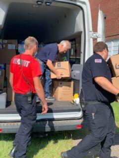 Volunteers provide relief for DeRidder