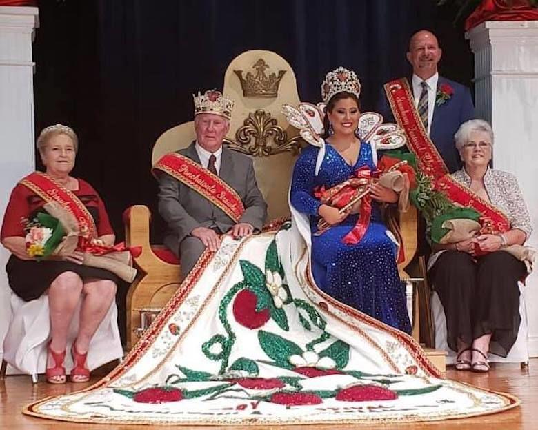 Strawberry royalty chosen