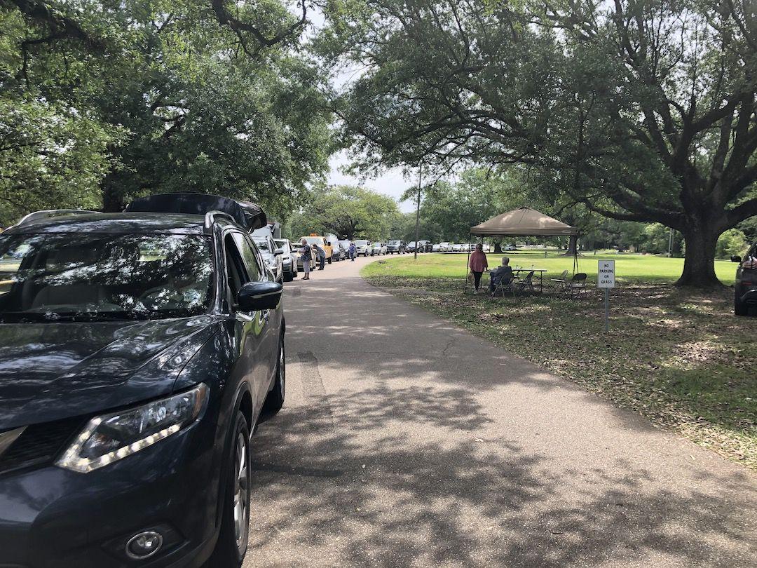 Hundreds bring hazardous wastes