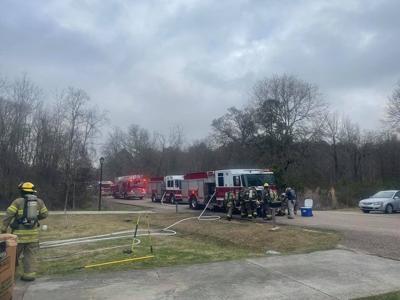 Hammond firefighters douse fire