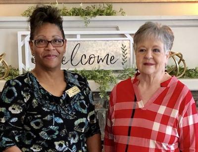 Scholarship recipient revisits garden club