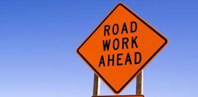 Roadwork on U.S. 50