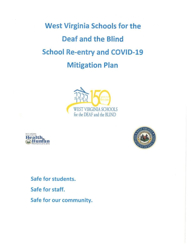 WVSDB Back-to-School Plan