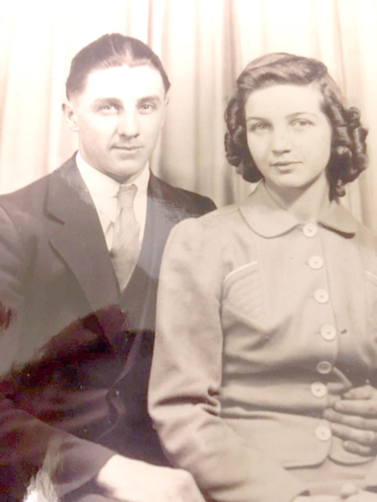 George and Thelma Beam in 1942