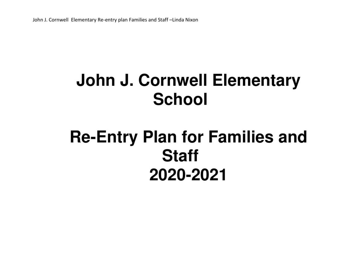 J.J.C. Elementary Back-to-School Plan