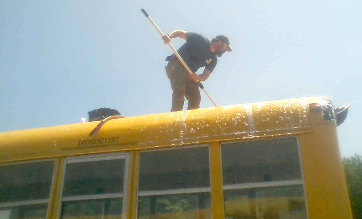 School bus groupie