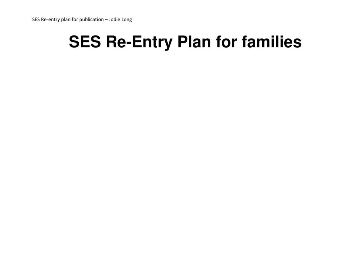 Slanesville Elementary Back-to-School Plan