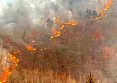 Pendleton fire