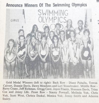1980 Swimming Olympics