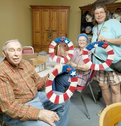Senior crafts