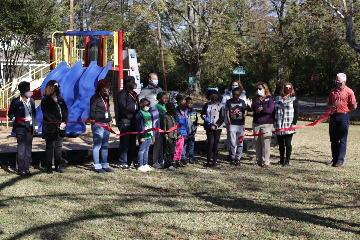 Gator Park playground ribbon cutting.JPG
