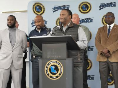 Mayor Jamie Mayo announces Operation Ceasefire at MPD