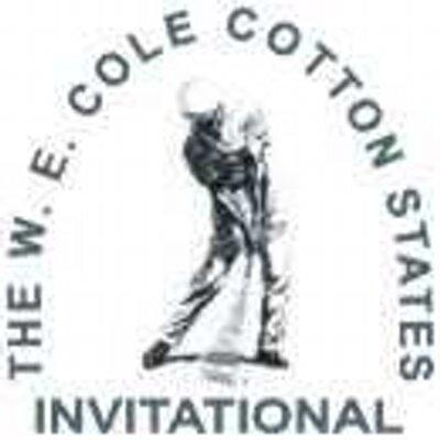 W.E. Cotton States Invitational Logo