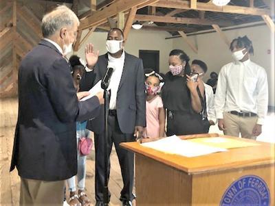 P-1 Photo -- Rydell Turner being sworn in.jpg