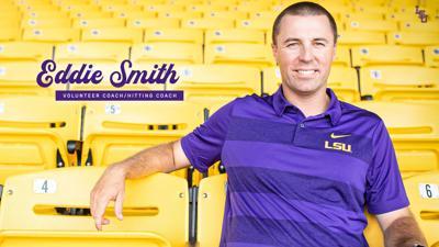Eddie Smith Joins LSU Baseball Staff