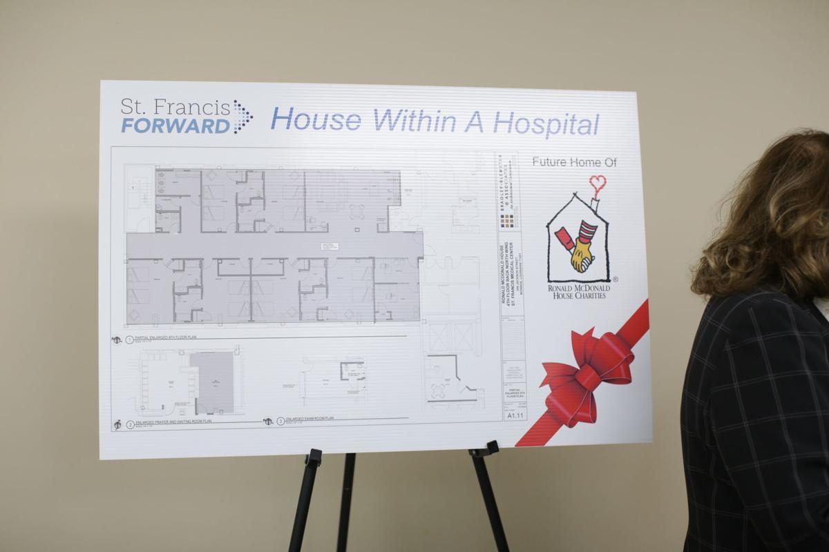 Ronald McDonald House plans at St Francis Medical Center.JPG