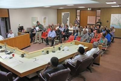 P-1 Photo -- Hospital officials meet with Police Jury.jpg