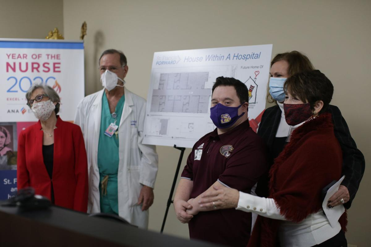 St Francis Medical Center and Ronald McDonald House announce House within a Hospital project.JPG