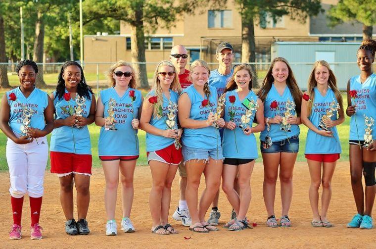 2014 MYGSL 13-17 Year Old Division Regular Season Champions - Greater Ouachita Lions Club