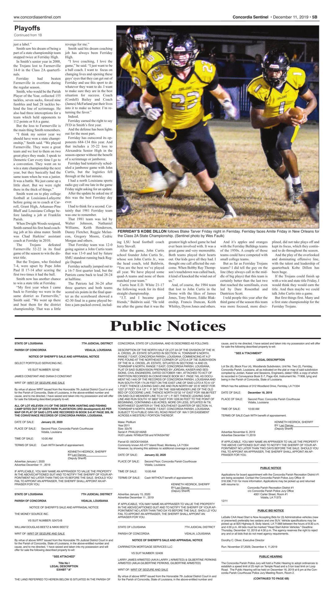 Public Notices - 12.12.19