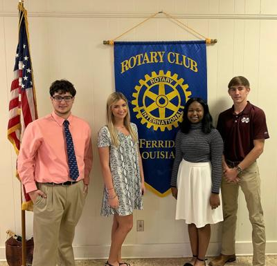 Rotary scholarship winners