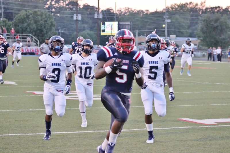 West Monroe senior running back Devontae Williams has one of the top rushing performances in the state for a single game