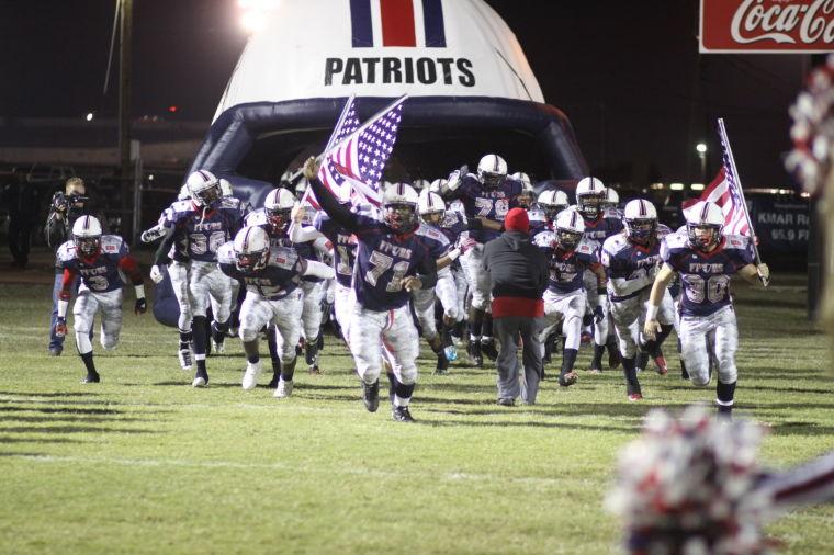 Patriots take the field