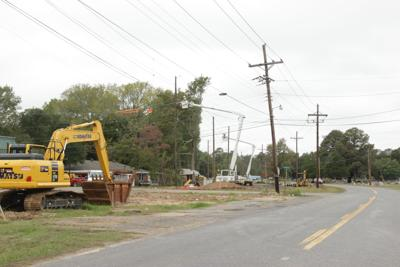 Work continues on Arkansas Road widening project