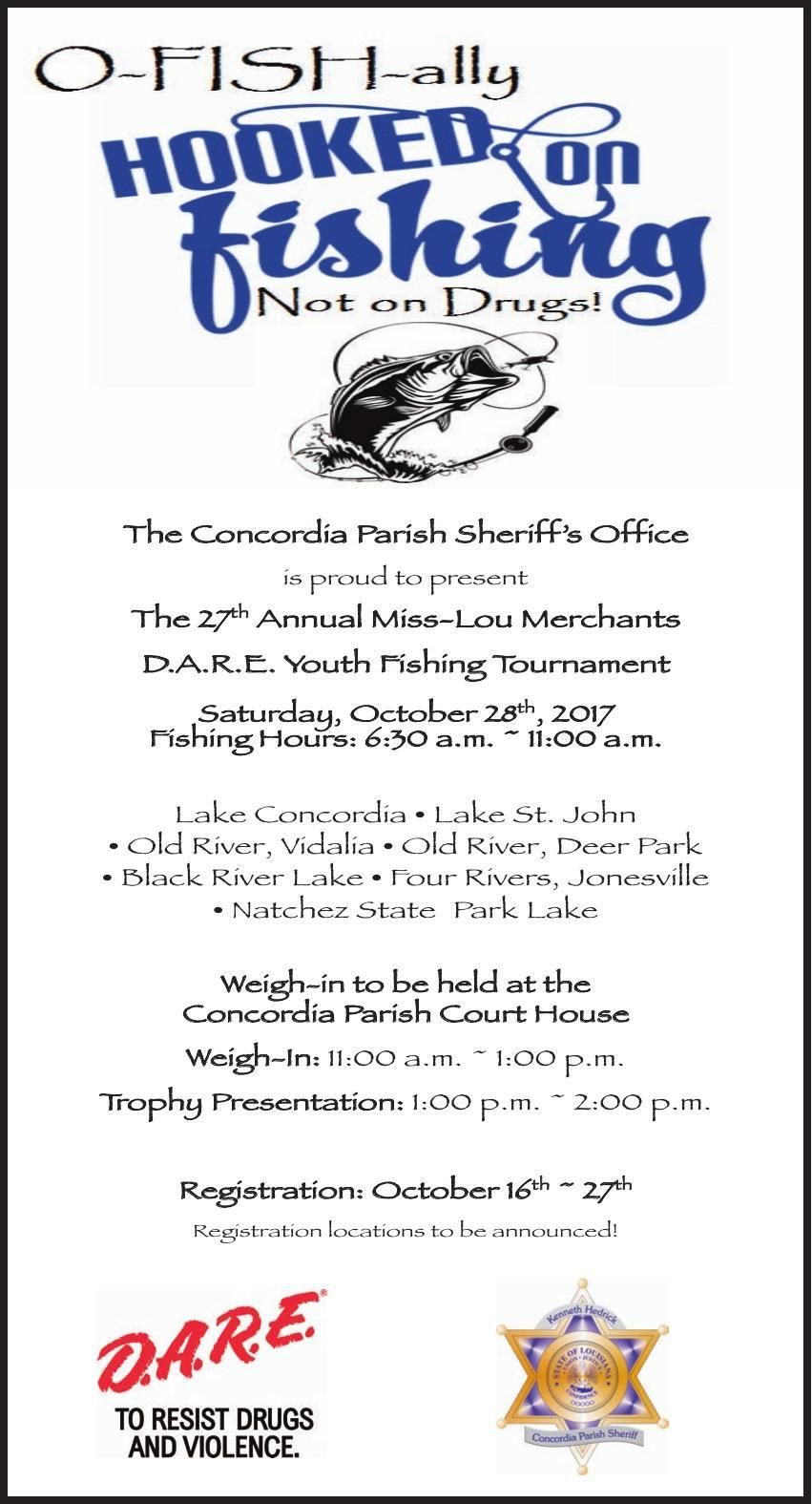 DARE Fishing Tournament