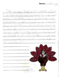 happy thanksgiving from west ridge middle school   hannapubcom west ridge students write thanksgiving essays acrostics
