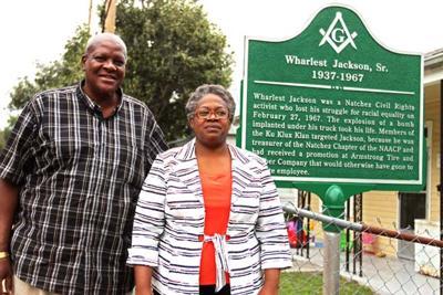 Wharlest Jackson Jr. and Denise Ford