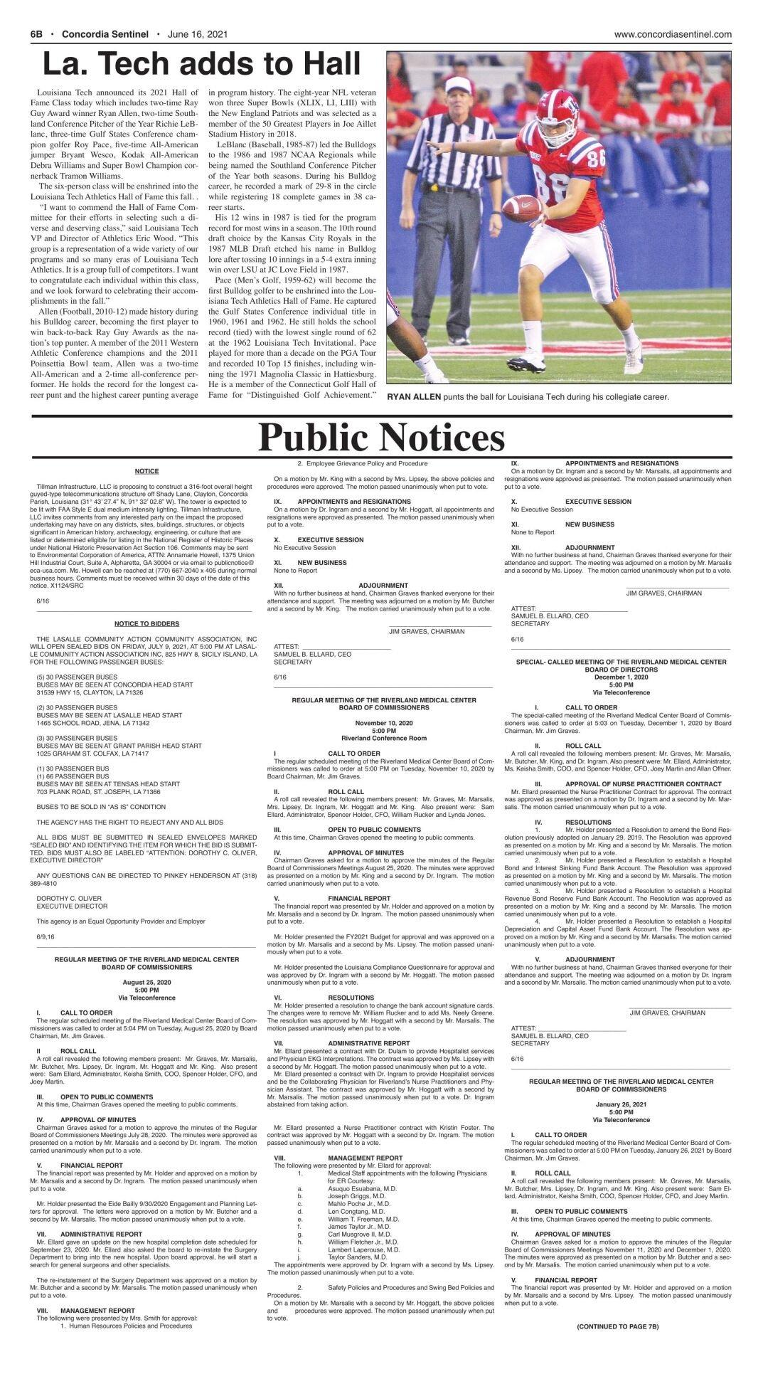 Public Notices - June 16, 2021