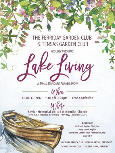 Garden clubs plan show