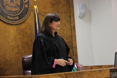 Fourth Judicial District Court Judge Sharon Marchman