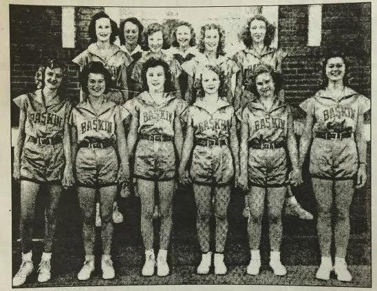 Baskin Lady Rams 1948